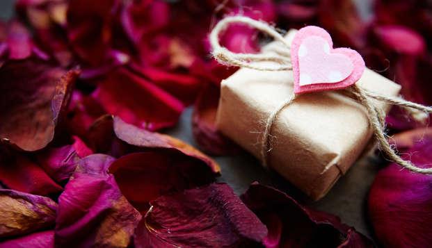 Célébrez l'amour avec un diner 5 services aux chandelles pour la Saint-Valentin !