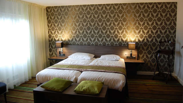 Luxe verblijf in een suite en genieten in de wellness in hartje Valkenburg