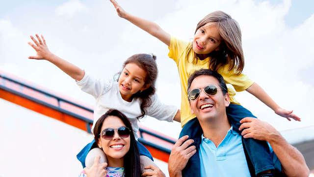 1 niño gratis y 2º niño al 50% del precio de un adulto (pago directo en el hotel)