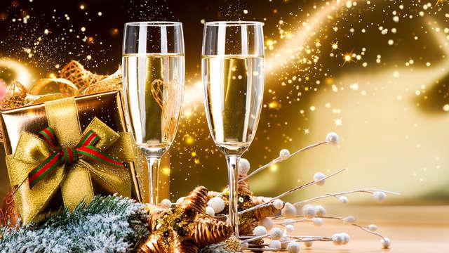 Escapada Nochevieja: ¡Cena de gala y fiesta de fin de año con acceso a spa!