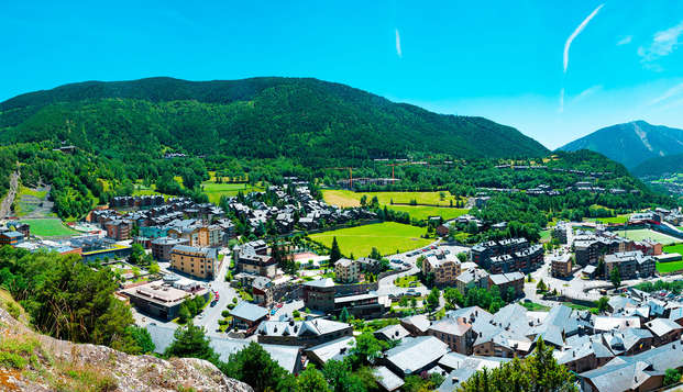 Week-end en Andorre avec bouteille de cava offerte