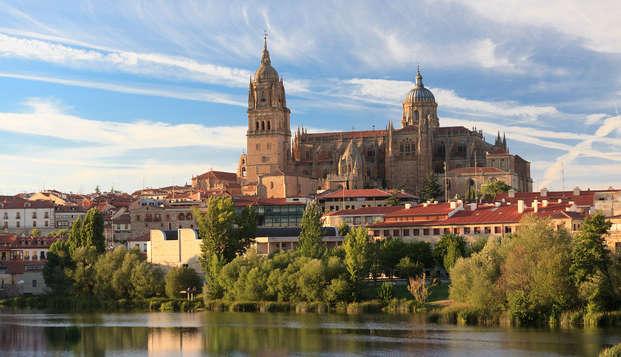 Escapada en Salamanca con bañera de hidromasaje en la habitación