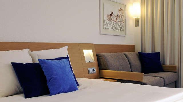 1 overnachting in een tweepersoons kamer superior met tuinzicht voor 2 volwassenen
