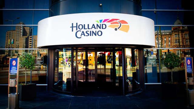 1 toegangsbewijs voor het casino Holland Casino voor 2 volwassenen