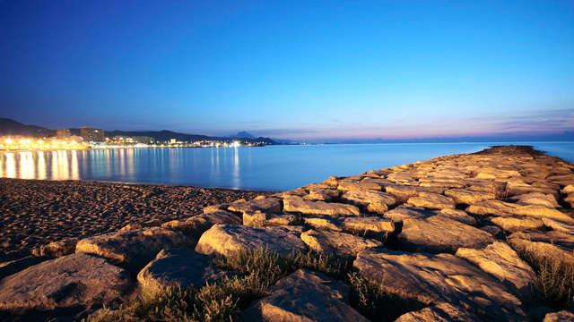 Séjour 2 nuits : voyage en couple à proximité de la plage avec séance jacuzzi et sauna privé
