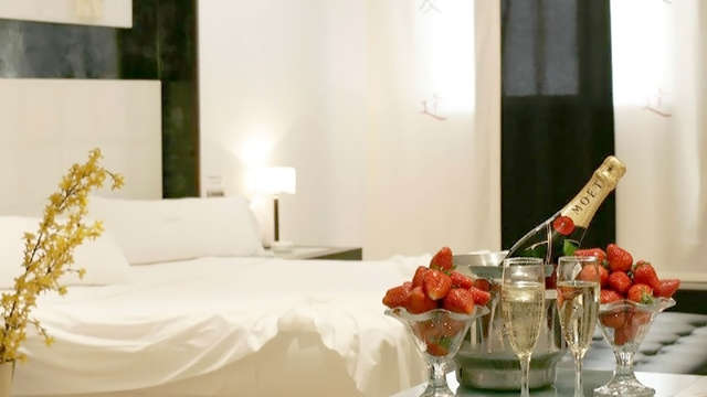 Diner en privé jacuzzi in Alcala de Henares (only adults)