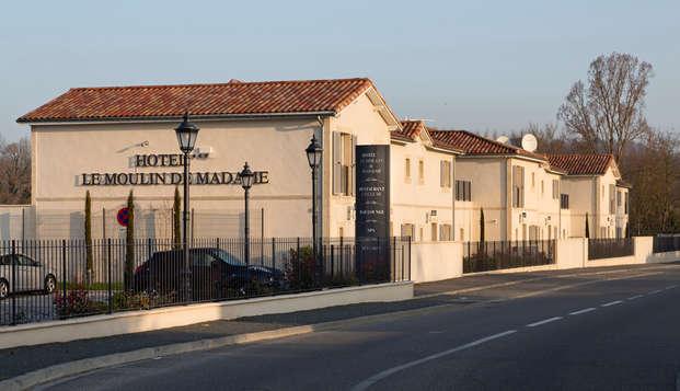Hotel Mercure Villeneuve sur Lot Moulin de Madame - facade