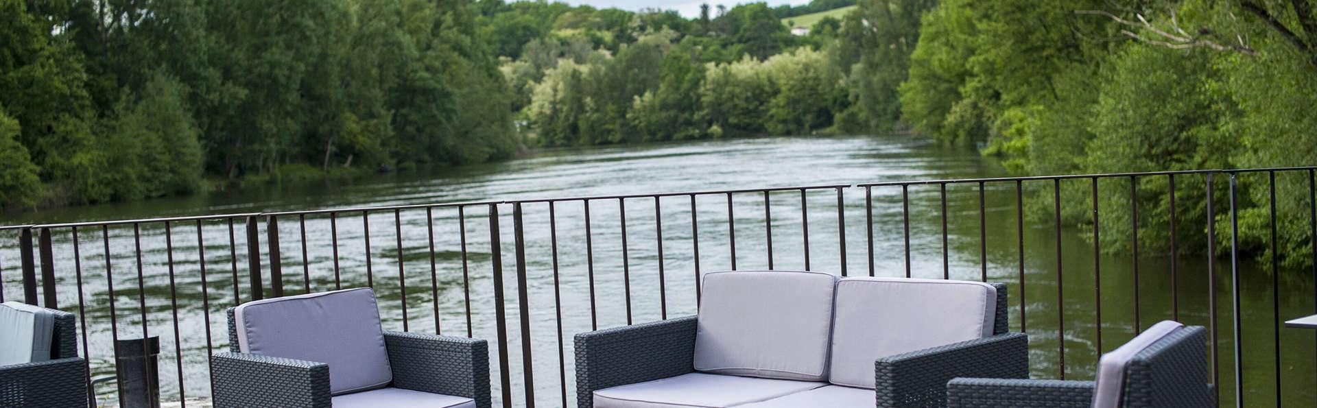 Week-end détente & spa, au bord de la rivière, près d'Agen