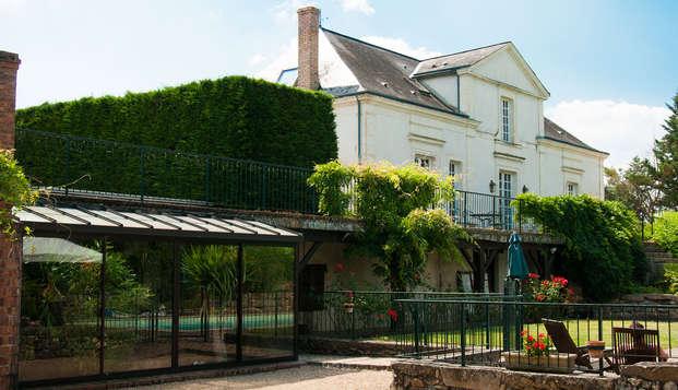 Hotel The Originals Domaine de la Courbe ex Relais du Silence - garden