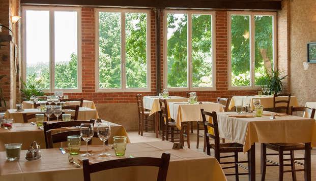 Relais du Silence Domaine de la Courbe - restaurant