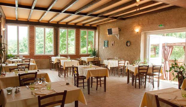 Hotel The Originals Domaine de la Courbe ex Relais du Silence - restaurant