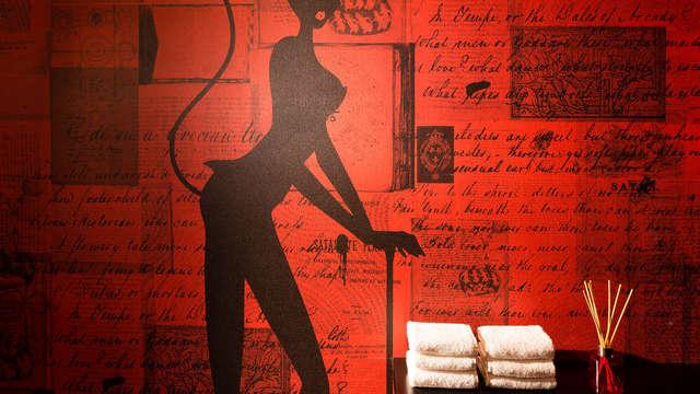 Champagne et lovebox pour un week-end coquin à Paris