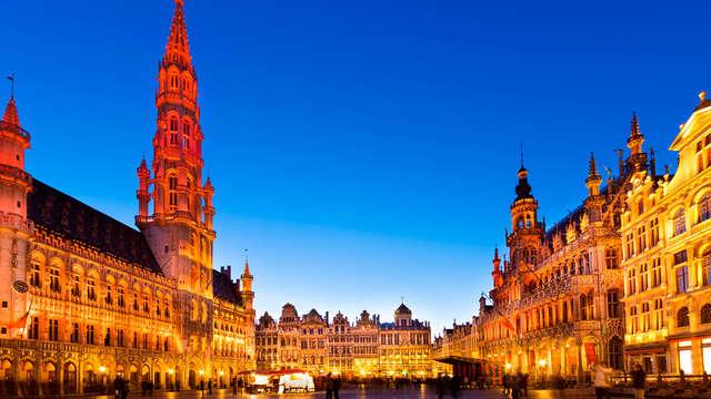 Romanticismo con cena y cava en el corazón de Bruselas
