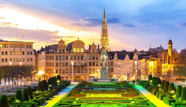 Découvrez la capitale de la Belgique ce week-end (à partir de 3 nuits)