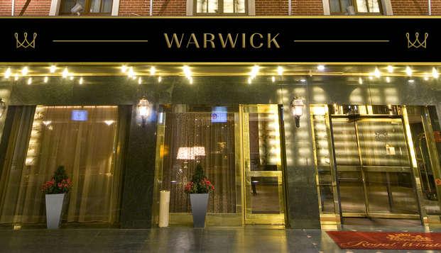 Warwick Brussels - entrance