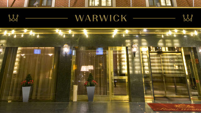 Warwick Brussels - entrance
