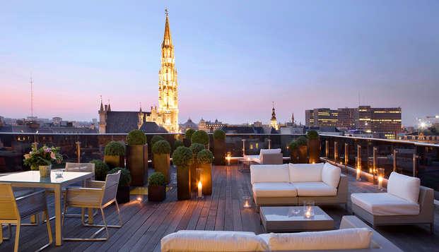Séjour de luxe à Bruxelles (à partir de 2 nuits)