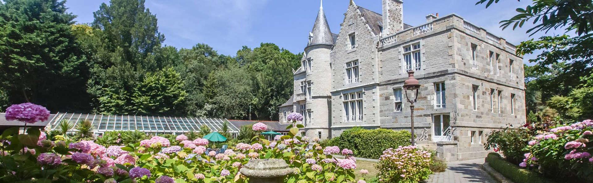 Pause bien-être dans un château breton