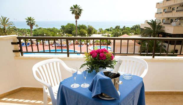 Spécial amoureux : escapade avec balcon et vue sur la mer à Torrevieja