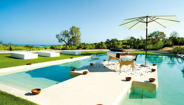 Sant Pere del Bosc hotel spa - pool massage