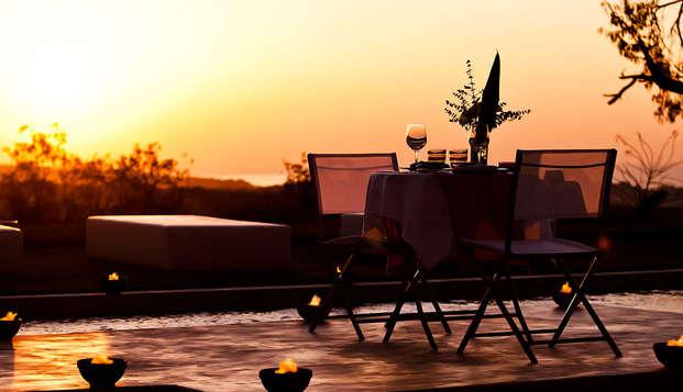 Sant Pere del Bosc hotel spa - terrace