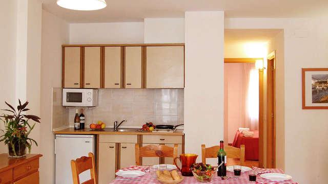 1 nuit en appartement standard pour 2 adultes