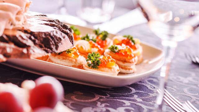 Escapade avec dîner romantique dans un hôtel enchanteur au Cabo de Gata