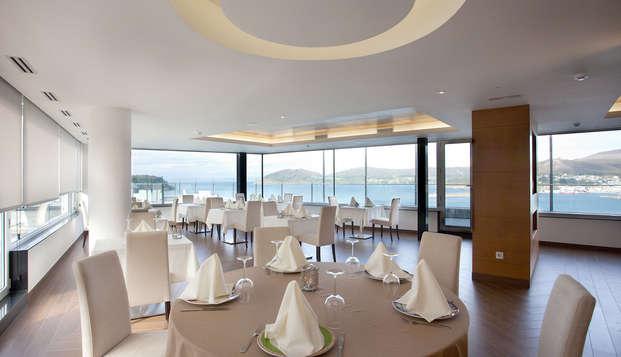 Oferta única: Escapada con Cena y circuito Thalasso en la costa de Lugo (desde 2 noches)