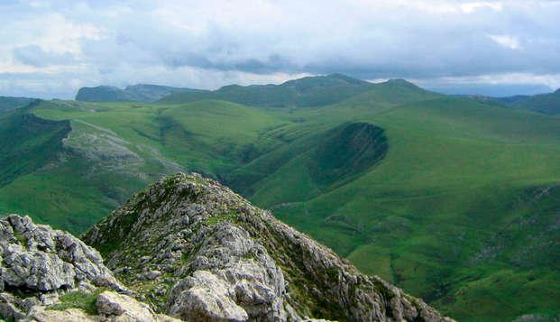 Escapada junto al parque natural de San Miguel de Aralar y la Sierra de Urbasa