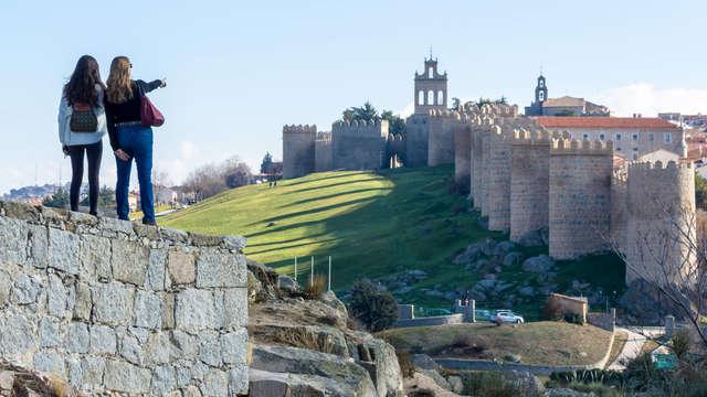 Escapada en Ávila con encanto en un hotel con vistas panorámicas de la ciudad