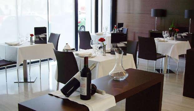 Escapada romántica en Murcia con cena y spa incluidos
