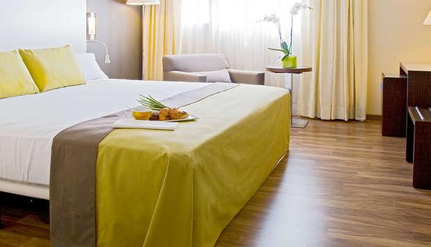 ¡Escapada a Murcia en hotel moderno a 5' del centro con cena incluida!