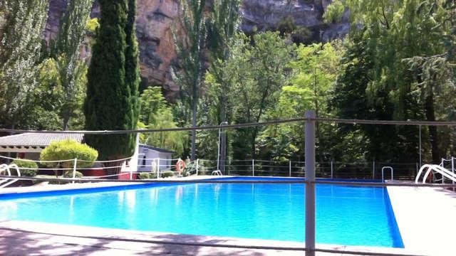 Escapada con Pensión Completa en un balneario cerca de Zaragoza