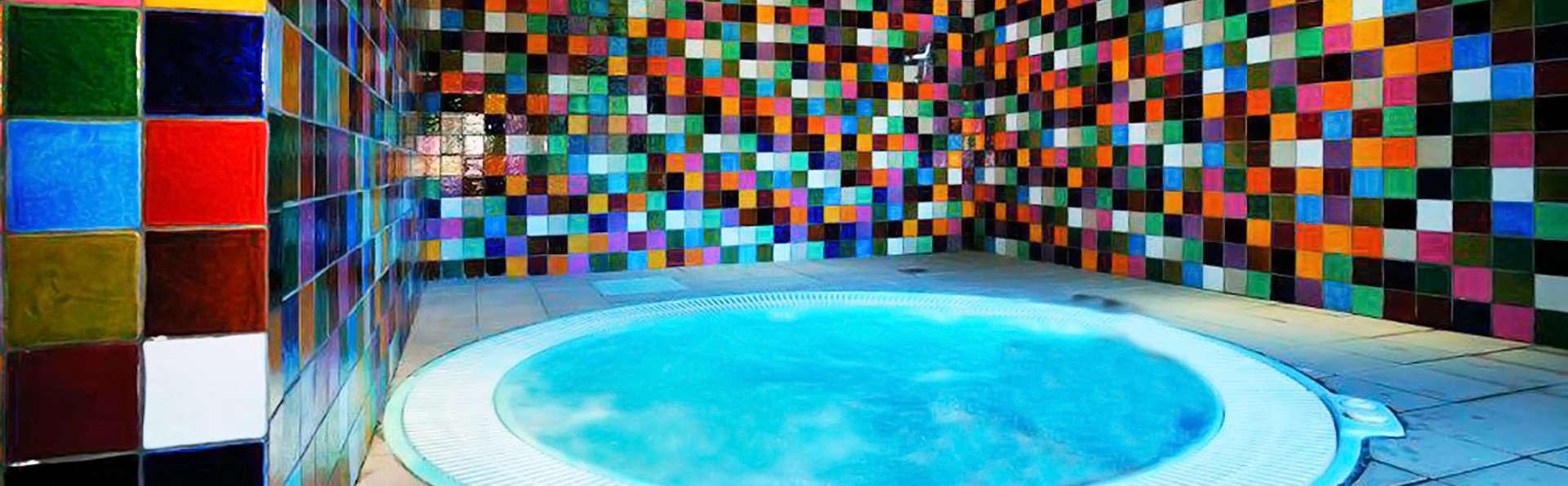 Week-end rafraîchissant avec accès à l'espace thermal dans un spa centenaire près de Saragosse