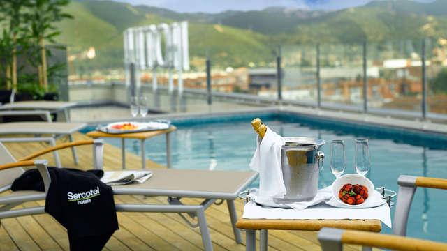 Luxe 4* trés près de Barcelone avec des belles vues et piscine