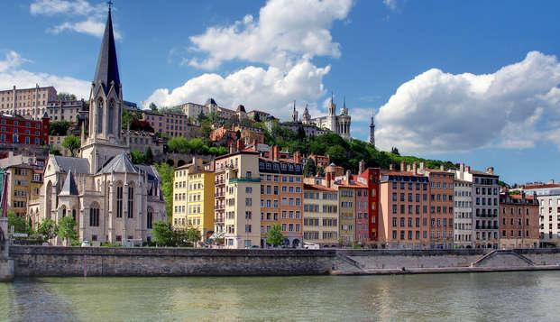 Week-end romantique au cœur de Lyon (avec champagne)