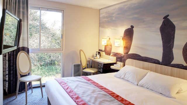 2 nuits en chambre double confort Vue jardin pour 2 adultes