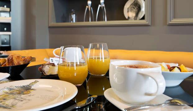Empreinte Hotel - breakfast