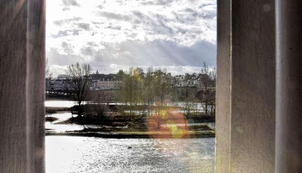 Week-end détente avec accès spa au bord de la Loire