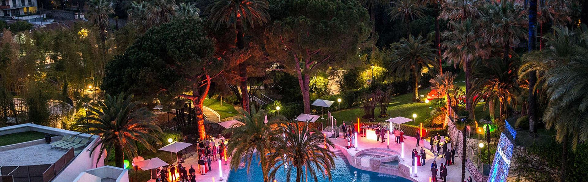 Escapade romantique avec champagne à Cannes
