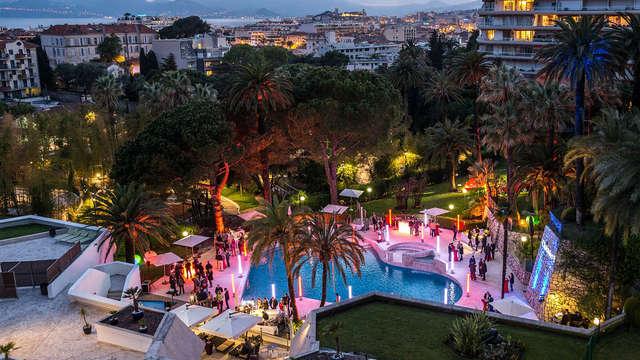 Moment de détente sur la Côte d'Azur à Cannes
