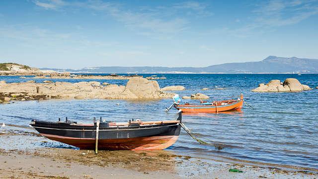 Cena romantica, relax e vino in Galizia