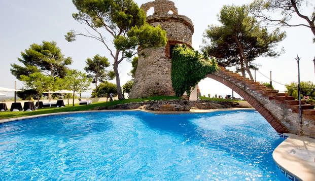 Escapada con vistas al mar en Castelldefels en un 4*