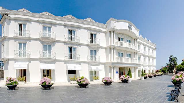 Escapada en Suances en un hotel con vistas al mar Cantábrico y visita con degustación