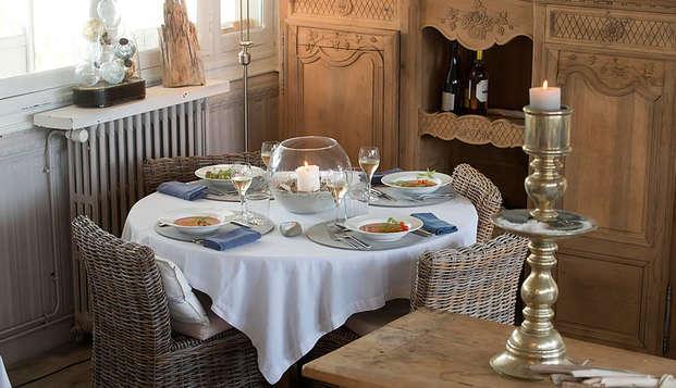 La Marine de Loire Hotel et Spa - dinner