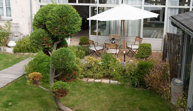 La Marine de Loire Hotel et Spa - garden