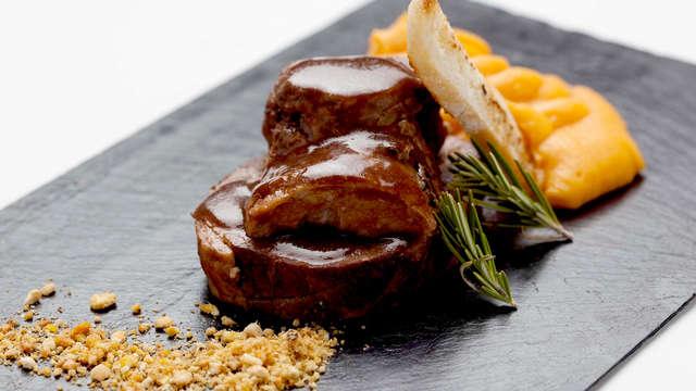 Escapada Gourmet con cena y acceso al spa en Cáceres en un 5*