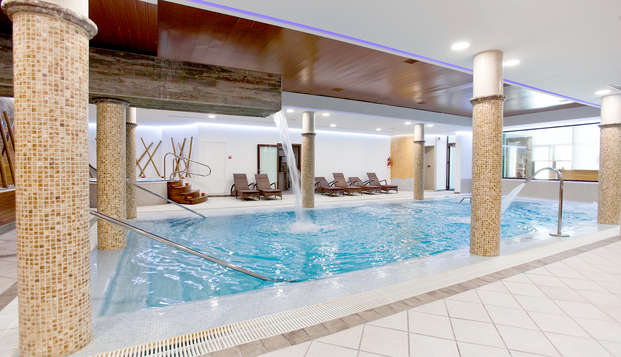 Relax y lujo en un exclusivo hotel de Cáceres con SPA y desayuno en la habitación