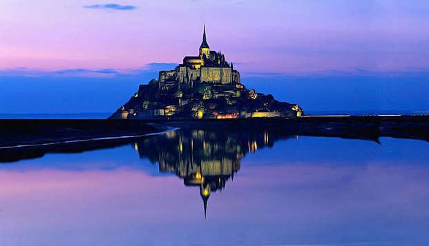 Week-end au pied du Mont Saint Michel