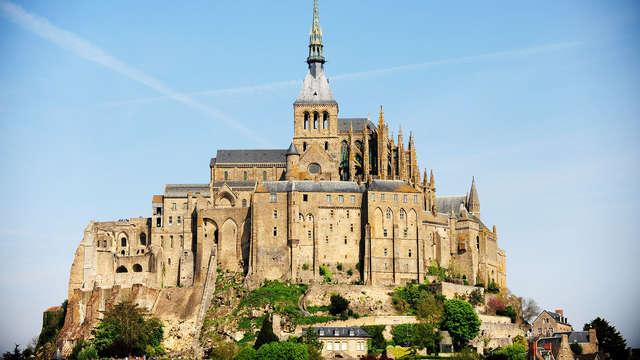 Week-end en chambre twin avec entrée à l'abbaye du Mont-Saint-Michel